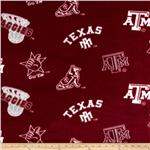 Collegiate Fleece Texas A&M Tossed