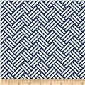 Michael Miller Bekko Home Decor Tatami Navy