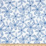0293054 Life Is Beautiful Daisies Blue