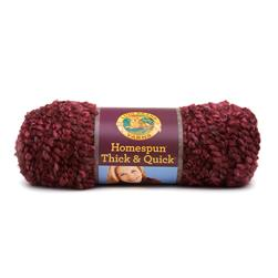 Lion Brand Homespun Thick & Quick Yarn (436) Claret
