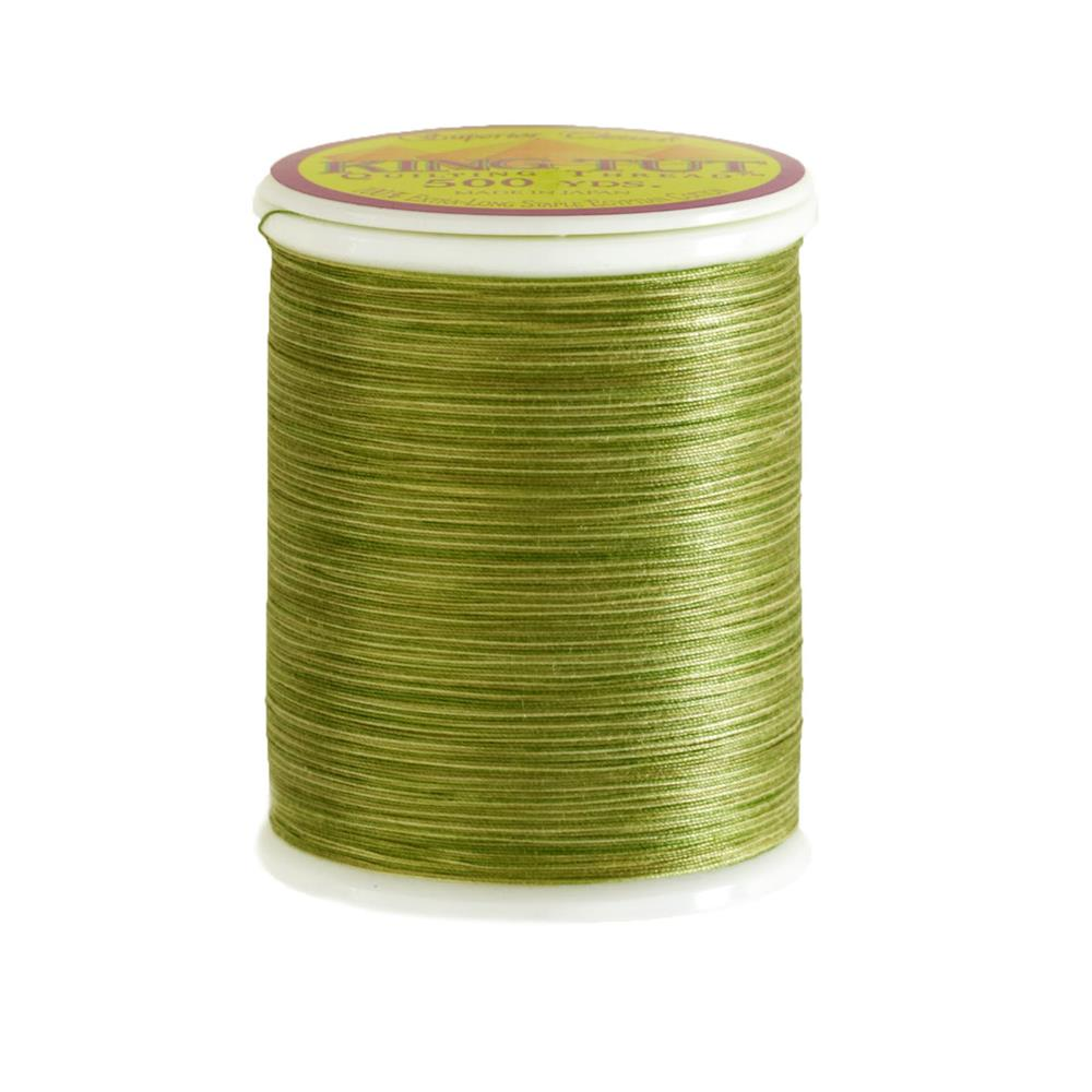 Superior King Tut Cotton Quilting Thread 3-ply 40wt 500yds Green Olives