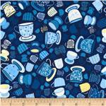 Tiana Small Tea Cups Blue