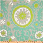 UM-292 Premier Prints Suzani Twill Harmony/Green