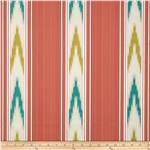 Williamsburg Manipur Ikat Stripe Jacquard Tumeric