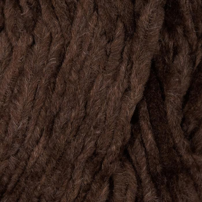 Lion Brand Chenille Yarn (126) Brownstone
