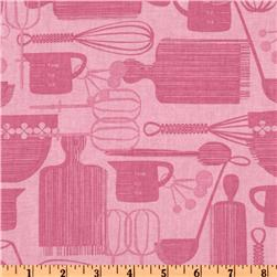 Kitchy Kitchen Utensils Pink