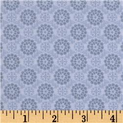Winter Traditions Heirloom Floral Ice Blue