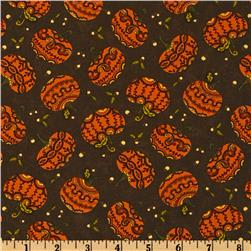 Moda Posh Pumpkins Pumpkins Dark Brown