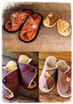 FT-049 Pitter Patter Slippers Pattern