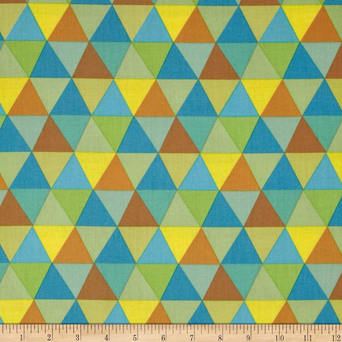 Frippery Triangles Yellow/Blue