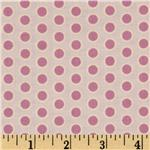 City Girl Rim Dots Satin Pink