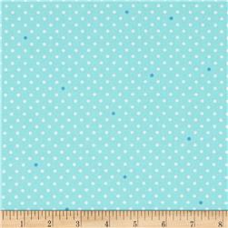 Cynthia Rowley Paintbox Pin Dot Turquoise