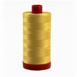 Aurifil Quilting Thread 50wt Pale Yellow