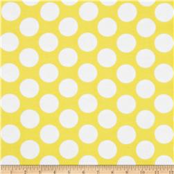 Flannel Polka Dot Yellow