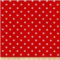 Riley Blake The Simple Life Dots Red