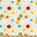 Savanna Bop Circles Red/Yellow