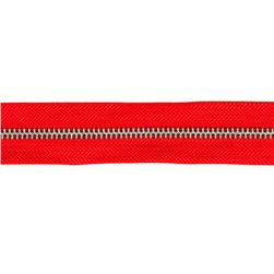 Riley Blake 1 1/4'' Zipper Trim Red