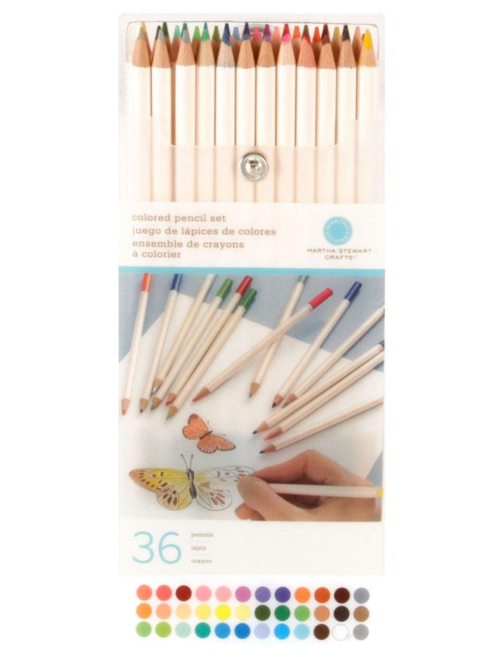 Martha Stewart Crafts Colored Pencil Set