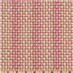 Savannah Dotted Squares Pink