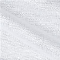 Polyester Tissue Jersey Knit Bright White