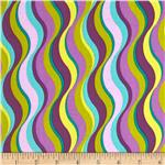 0279804 Purple Haze Wavy Stripe Purple