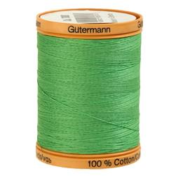 Gutermann Natural Cotton Thread 800m/875yds Shamrock Green