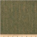 "48"" Chevron Burlap Natural/Hunter"
