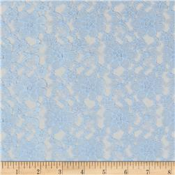 Raschel Lace Light Blue