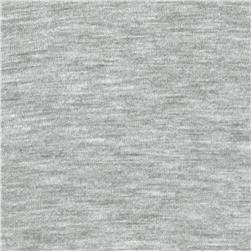 Designer Tissue Rayon Jersey Knit Heather Grey