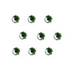 4mm Swarovski Peridot Green 24pc