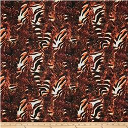 Jungle Safari Broadcloth Animal Brick