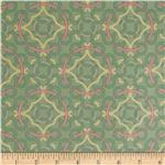 Victorian Modern Mosaic Green