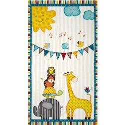 Sunshine Zoo Crib Panel Natural