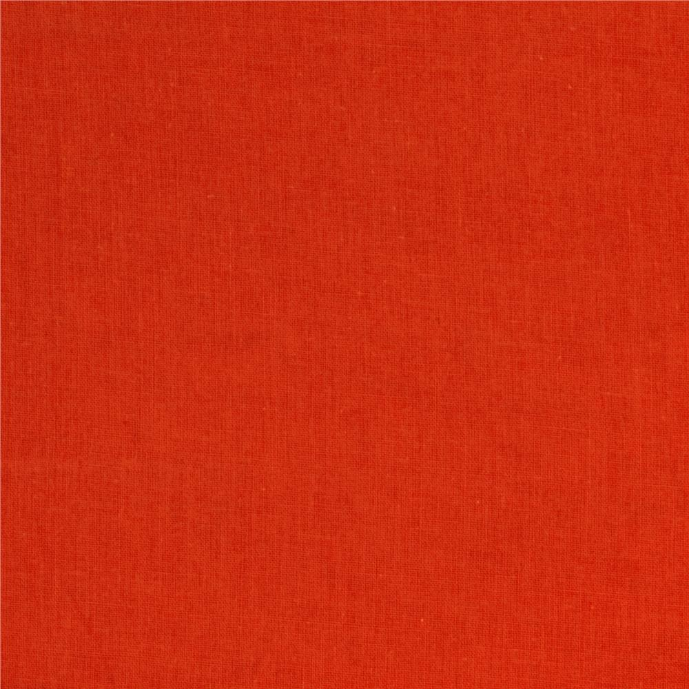 Cotton Lawn Orange