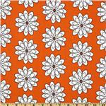 210667 Delight Spiral Flower Orange