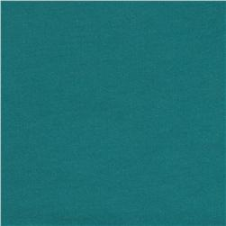 Organic Cotton French Terry Knit Turquoise