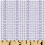 Brights & Pastels Basics Gingham Dot Stripe Light Purple