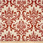 Premier Prints Traditions Red/Natural