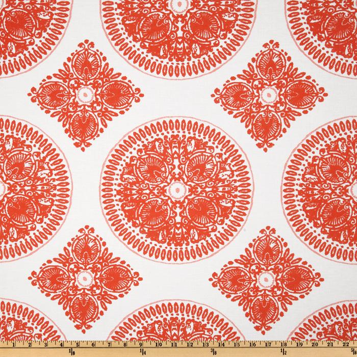 Ty Pennington Impressions Medallion Orange