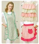 Kwik Sew Ruffled Aprons Pattern