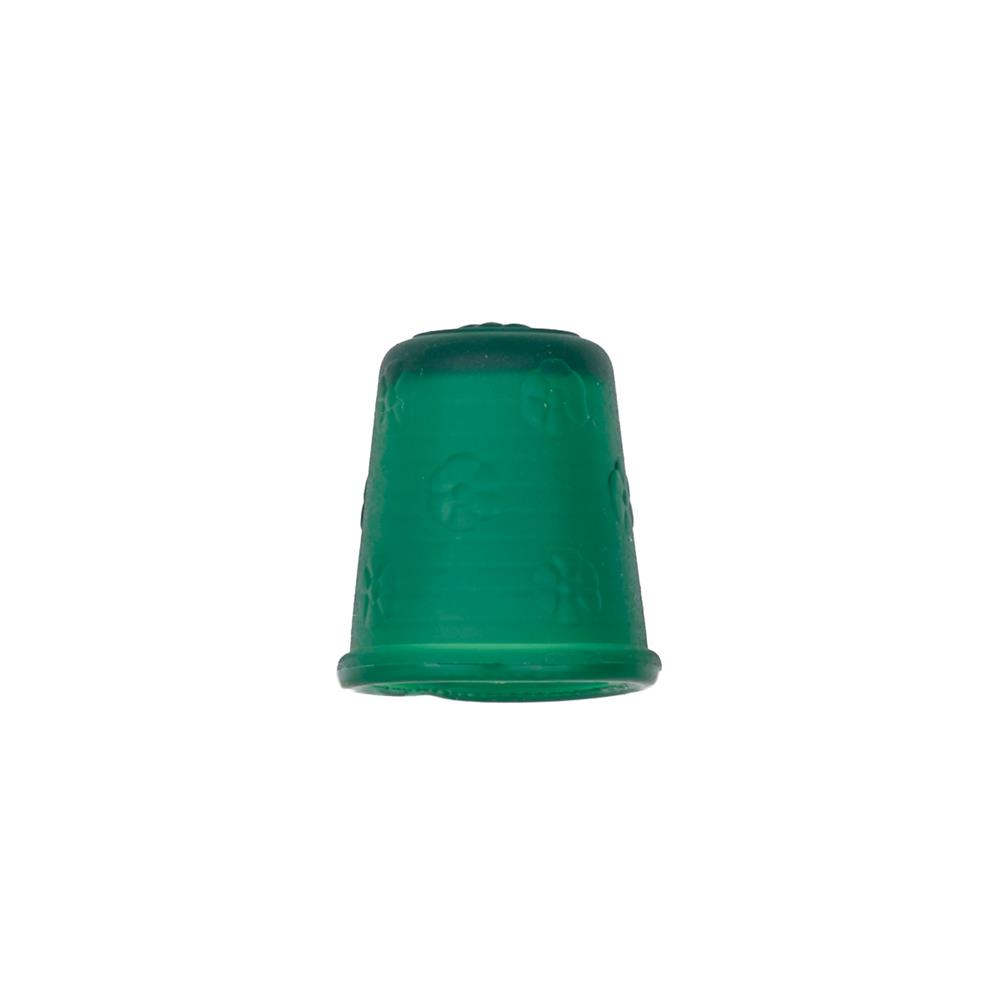 "Dill Rubberized Thimble 11/16"" Green"