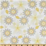 Riley Blake Willow Organic Floral Yellow
