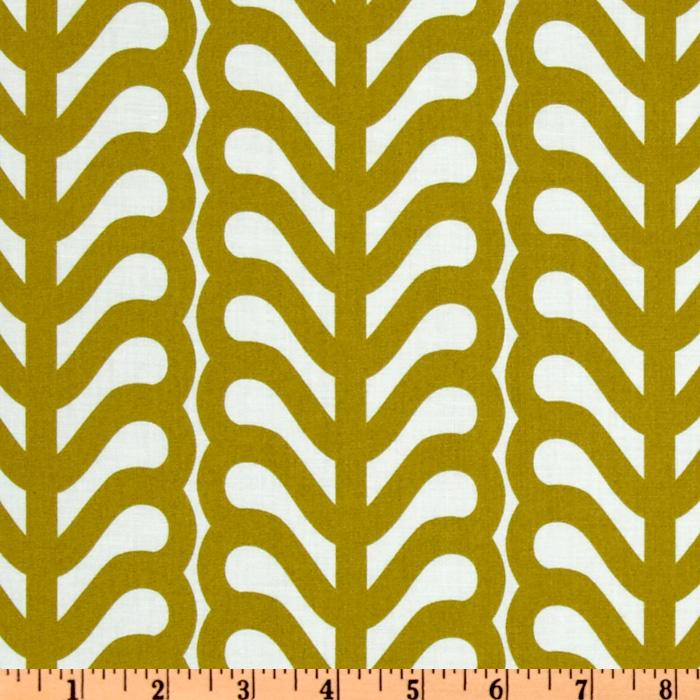 Outfoxed Fern Stripe Olive