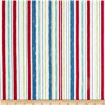 0286299 Ship&#39;s Ahoy Decking Stripe Red/Lime