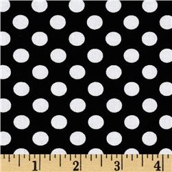 Kaufman Spot On Medium Dot Black