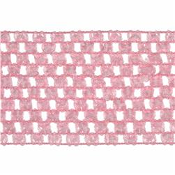 "2 3/4"" Crochet Headband Trim Pink"