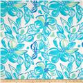 Cotton Lawn Prints Aqua