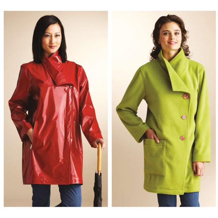 Kwik Sew Misses Asymmetric Coats Pattern