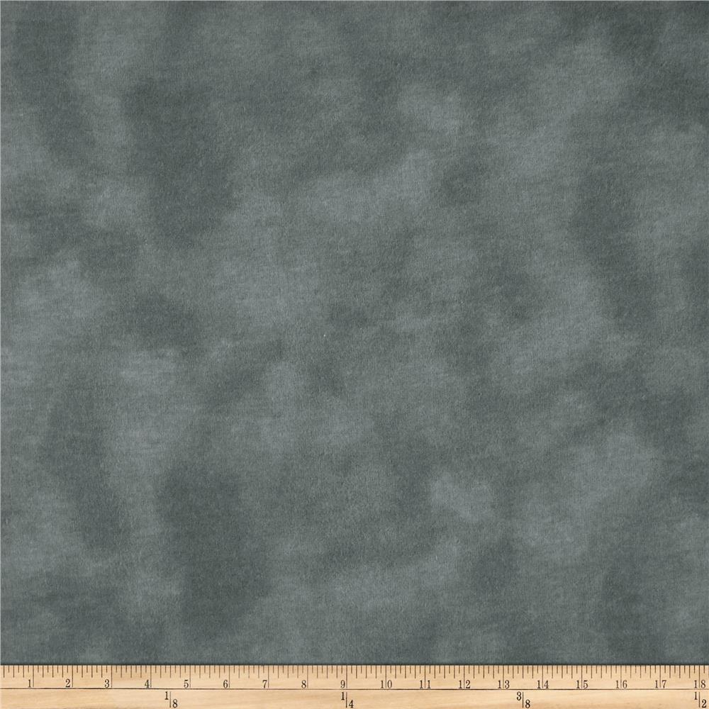 "A E Nathan 108"" Wide Mottled Flannel Grey"