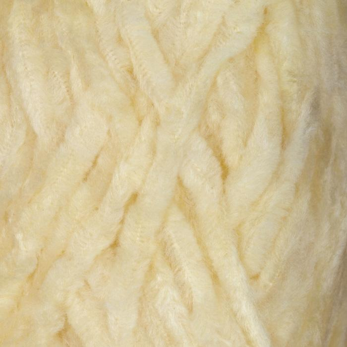 Lion Brand Chenille Yarn (100) Porcelain